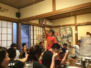 2015-5-4 サッカー祝勝会