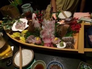 2015.5.28沼津の魚 舟盛り