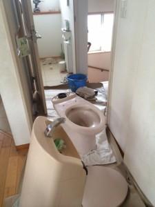 トイレ詰まり1