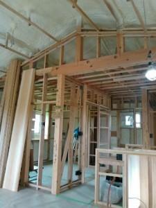 A様邸構造 天井部