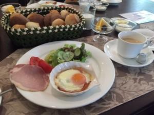 ペンション 朝食