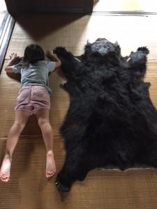 熊と昼寝IN福島
