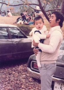 大工と赤ちゃんの社長