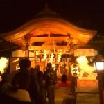 山田八幡神社 二年参り